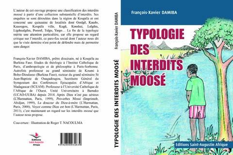 En vente: Typologie des interdits moosé de l'abbé François-Xavier Damiba