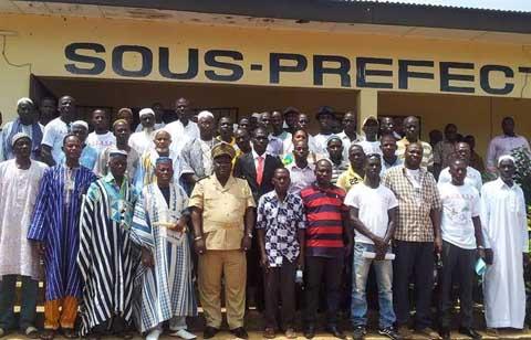 Côte  d'Ivoire: De jeunes Burkinabè exhortent les communautés de l'Ouest à la paix
