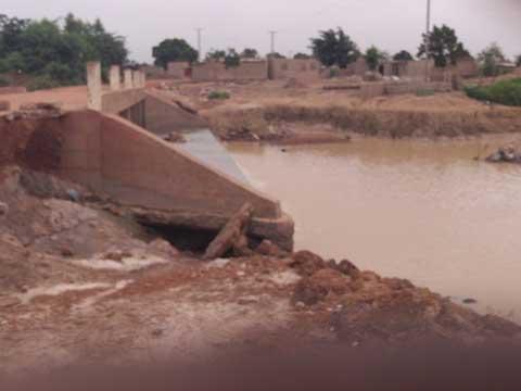 Communiqué relatif à un pont qui a cédé sur la RN16 avant Tenkodogo
