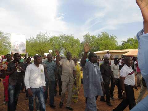 Campagne municipale: L'UPC  donne le ton à Komsilga dans le Kadiogo