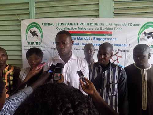 Transparence des élections: Le Réseau Jeunesse et politique appelle chaque acteur à jouer pleinement son rôle
