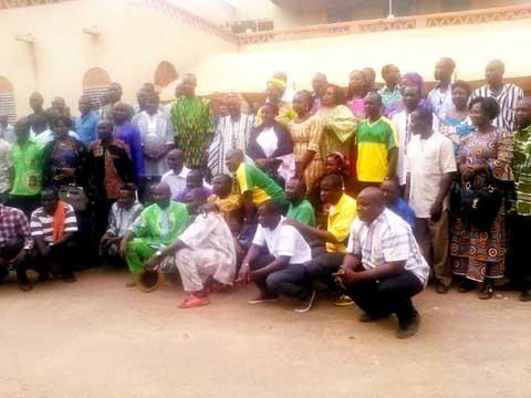 Municipales du 22 mai 2016: Le candidat de l'UPC à la mairie centrale de Ouagadougou chez le Mogho Naaba