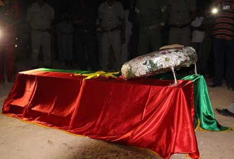 Rasmané Doussoungou repose désormais au cimetière de Sandogo
