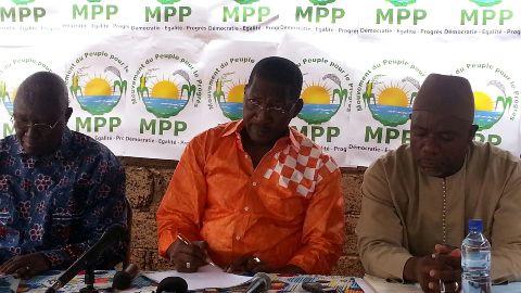 Alassane Sakandé, directeur provincial de campagne du MPP,  «Si on avait décidé d'assiéger le siège de la NAFA, il n'y aurait plus de briques».