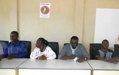 Municipales du 22 mai 2016: L'UNIR/PS en renfort à son candidat tête de liste de Pama