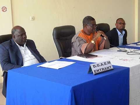 Agence de l'eau du Mouhoun: Saïdou Kanazoé prend les commandes