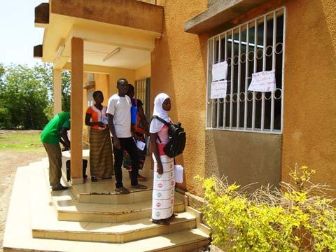 Concours de la fonction publique 2016: Faible engouement pour le dépôt des dossiers à Gaoua