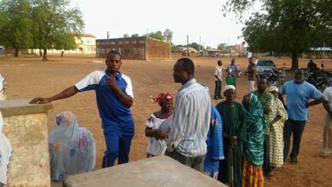 Scrutin municipal dans la région  du centre-Est: 438 699 électeurs  attendus dans les bureaux de vote