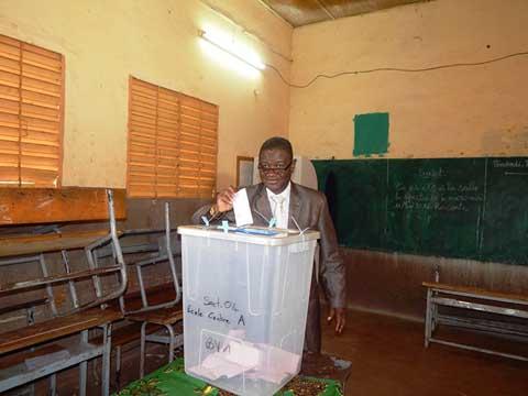 Elections municipales à Dédougou: Une mobilisation timide dans la matinée