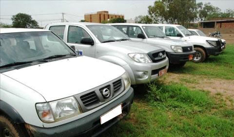 Parc automobile de la Présidence: 57 véhicules portés disparus