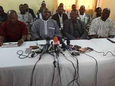 Incidents pendant les municipales et nomination du DG de la CNSS: Le CFOP en appelle au Président du Faso