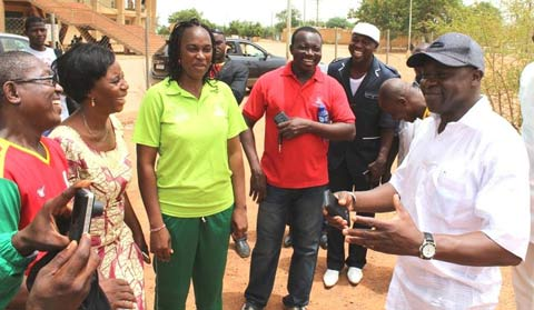 Mini jeux nationaux de Special Olympics Burkina: Le floorball comme nouveauté