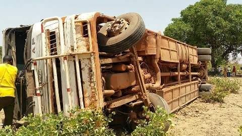 Accident sur l'axe Tougan/Ouahigouya: Plus d'une quarantaine de blessés