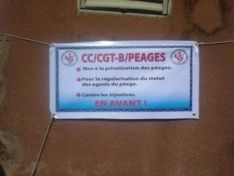 Péages au Burkina: Des agents décrètent la gratuité 4 heures par jour pendant 4 jours