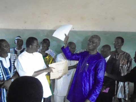 BEPC 2016: Le ministre Jean-Martin Coulibaly a donné le top de départ des épreuves