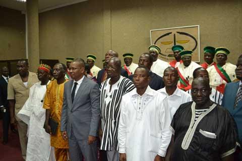 Commission électorale nationale indépendante: Les nouveaux membres ont prêté serment