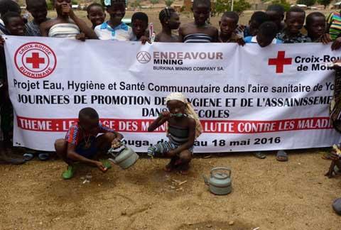 Aire sanitaire de Youga: Les élèves se mobilisent pour l'hygiène et l'assainissement
