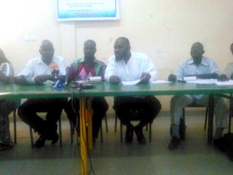 Sit-in des agents des péages: Le comité CGT-B péage Ouagadougou fait le point