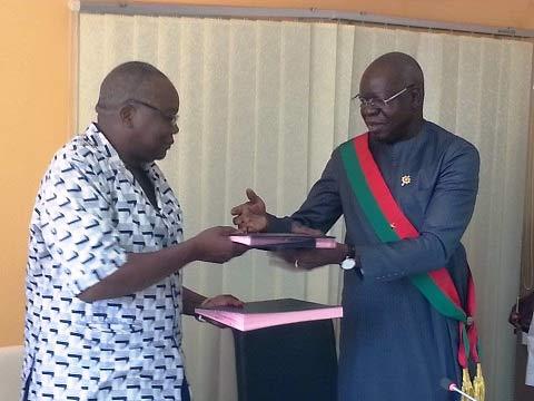 Construction du Musée des luttes du peuple burkinabè: L'association «Mémoire et conscience» et l'Assemblée nationale scellent un partenariat