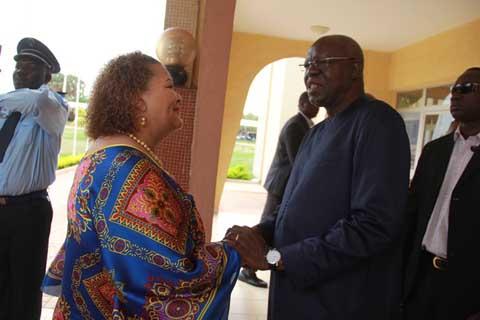 Coopération Burkina-Namibie: La présidente du parlement namibien touche du doigt les réalités du Burkina