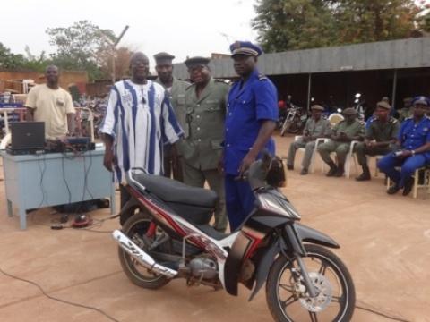 Police municipale: 14 engins volés remis à la gendarmerie