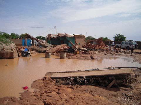 Gnagna: plusieurs maisons effondrées après de fortes pluies
