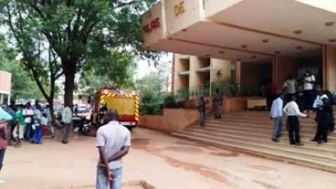 Justice: Un incendie au Tribunal de Grande Instance de Ouaga