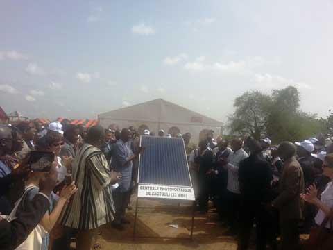 Centrale solaire de Zagtouli: Le premier kilowattheure attendu dans quatorze mois