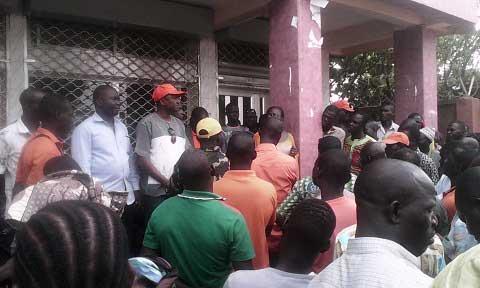 Arrondissement n°8: Des militants du MPP réclament la reprise des votes