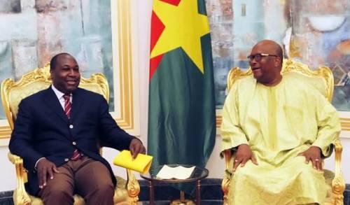 Kosyam: Zéphirin Diabré a échangé avec le président Kaboré sur le projet de constitution