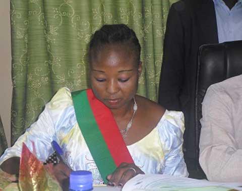 Arrondissement 3 de Ouagadougou: Rainatou Sawadogo a officiellement pris fonction