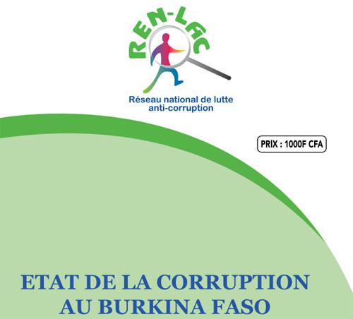 RENLAC: L'intégralité du rapport 2015 sur la corruption au Burkina