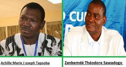 Achille Tapsoba et Zambendé Théodore Sawadogo du CDP de nouveau empêchés de voyager
