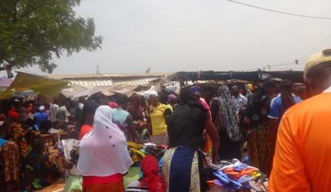 Ouagadougou à la veille de la fête de l'Aid El Fitr