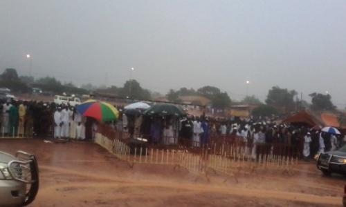 Ramadan 2016: L'on a prié sous la pluie à Bobo-Dioulasso