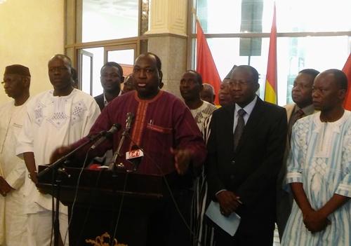 «Nous voulons une justice indépendante qui nous explique parfois les décisions qu'elle prend», Zéphirin Diabré chef de file de l'opposition