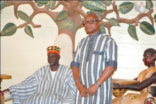 Le maire de la commune de Ouagadougou était chez le Mogho Naaba