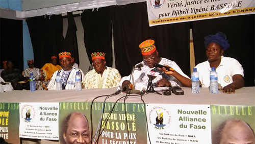Détention de Djibrill Bassolé à la MACA: Les anciens de son parti réclament  sa libération