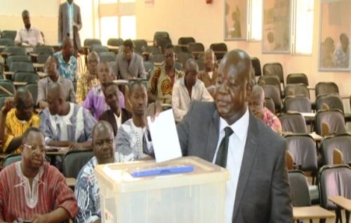 Conseil régional du sud-ouest: Marcel .B. Da élu nouveau président
