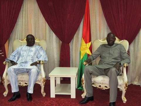 Assemblée nationale: Me Barthélémy Kéré a remis son rapport à Salif Diallo