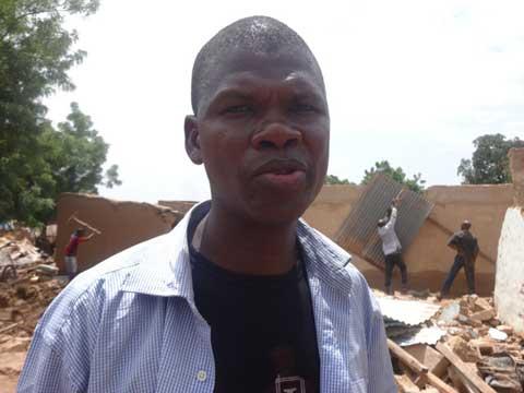 Inondation à Somgandé: De nombreux sinistrés, les services de l'action sociale à pied d'œuvre