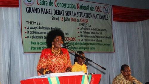''Ce serait une trahison des populations de passer au régime parlementaire '', dixit  Safiétou Lopez, présidente d'honneur du CCNOSC