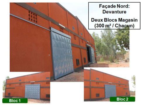 location d 39 un entrep t dans la zone de paul vi l 39 actualit au burkina faso. Black Bedroom Furniture Sets. Home Design Ideas