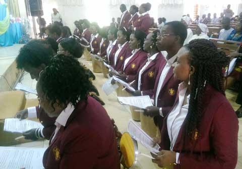 Eglise catholique: Des jeunes prêts à annoncer l'évangile