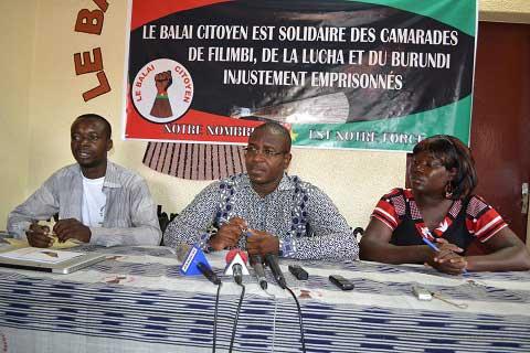 Ambassadeurs de conscience 2016 de Amnesty international: Le Balai citoyen dédie son prix au peuple Burkinabè