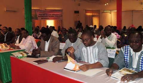 Sécurité alimentaire: Le conseil national veut dynamiser les structures déconcentrées