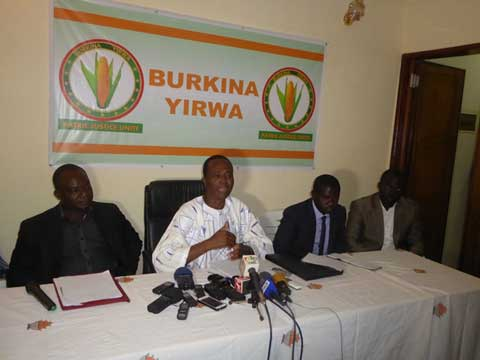 Un an de Burkina Yirwa: Le parti fait un bilan positif