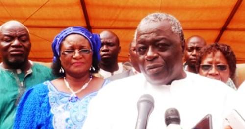 Benoit Kambou, président du HCRUN: «Nous sommes venus demander l'accompagnement du Mogho Naaba»