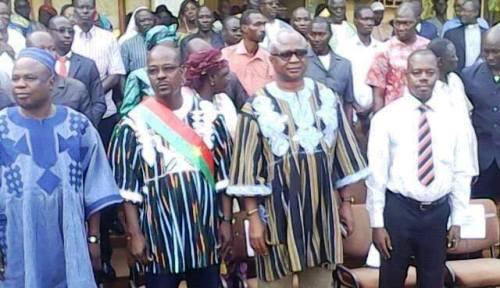 Arrondissement N°5 de Ouaga :Le maire Jean-Paul Moné appelle à «tourner la page pour un véritable changement»