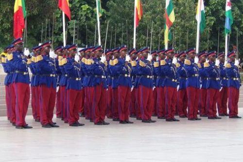 Académie  militaire de Pô: La 15 ème promotion reçoit ses épaulettes